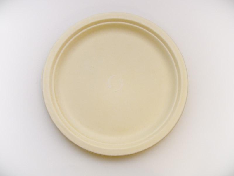 Bioselect 187 Ba10 10 Bagasse Plate